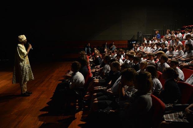 Más de mil alumnos de Tánger participan desde hoy en el Espacio Escuela del FCAT 2017