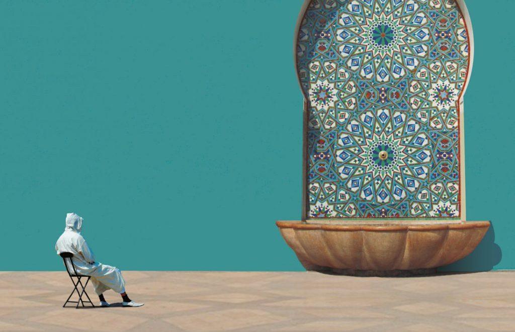 El Cartel del FCAT 2020 homenajea al Marruecos minimalista